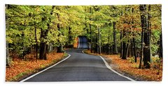 Tunnel Of Trees Beach Towel