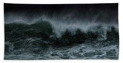 Turbulence Beach Towel