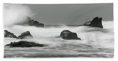 Turbulent Thoughts Beach Sheet