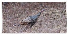 Beach Towel featuring the photograph Turkey 1155 by Michael Peychich