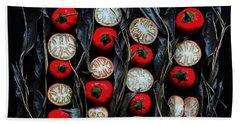 Turkish Eggplant Beach Towel