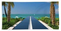 Turks And Caicos Beach Towel