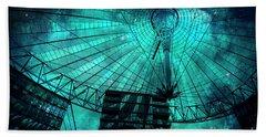 Turquoise Cosmic Berlin Beach Sheet