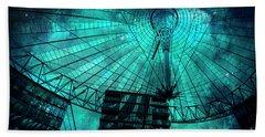 Turquoise Cosmic Berlin Beach Towel