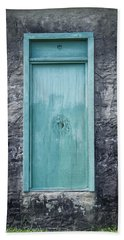 Turquoise Door Beach Towel
