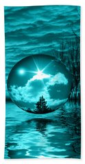 Turquoise Dreams Beach Towel
