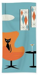 Turquoise Room Beach Towel
