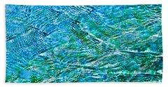 Turquoise Water Beach Sheet