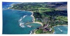 Turtle Bay - Looking East Beach Towel