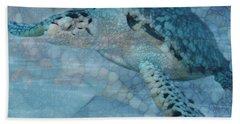 Turtle - Beneath The Waves Series Beach Towel