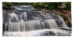 Turtleback Falls Beach Towel