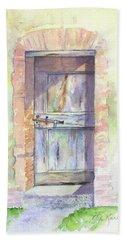 Tuscan Doorway Beach Towel