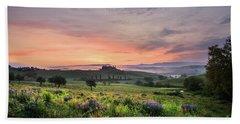 Beach Towel featuring the photograph Tuscan Dream I by Yuri Santin