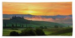 Beach Towel featuring the photograph Tuscan Dream II by Yuri Santin