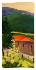 Tuscan Hills Beach Towel