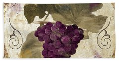 Tuscan Table Rouge Beach Towel
