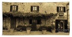 Tuscan Village Beach Towel