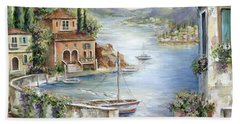 Tuscan Villas By The Sea II         I Beach Towel