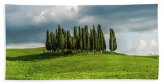 Tuscan Wonderland - Val D Orcia Beach Sheet