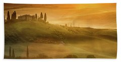 Tuscany In Golden Beach Towel