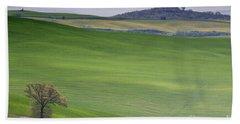 Tuscany Landscape Beach Sheet by Ana Mireles