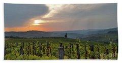 Tuscany Sunset Beach Sheet