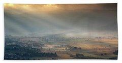 Tuscany Valley  Beach Towel