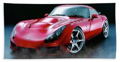 Tvr Evaporating Water Beach Towel