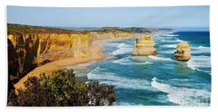 Twelve Apostles Australia Beach Towel by Lexa Harpell