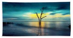 Twilight At The Boneyard Beach Towel