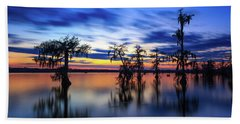 Twilight On Lake Martin Swamp Beach Sheet