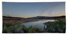 Twilight In The Desert Beach Towel