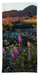 Twilight Lupine Beach Towel