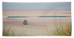 Twilight On The Beach Beach Towel