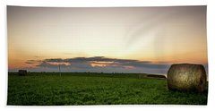 Twilight Prince Edward Island Fields Beach Towel