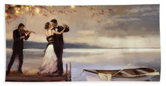 Twilight Romance Beach Towel by Steve Henderson