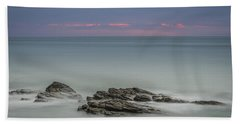 Twilight Seascape Beach Towel