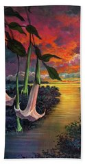 Twilight Trumpets Beach Sheet