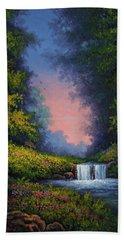 Twilight Whisper Beach Towel by Kyle Wood