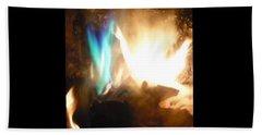 Twin Flame Beach Sheet