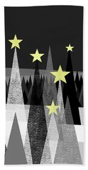 Twinkle Night Beach Towel