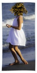Twirling  Beach Towel