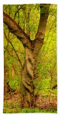 Beach Towel featuring the photograph Twisted by Viviana  Nadowski