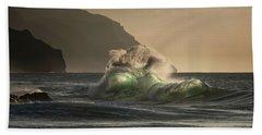 Twisted Wave Beach Towel