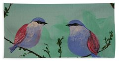 Two Chickadees Beach Sheet