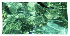 Beach Towel featuring the photograph Two Coral Fishes  by Jenny Rainbow