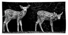 Two Fawns Beach Towel