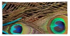 Beach Towel featuring the photograph Two Feathers by Angela Murdock