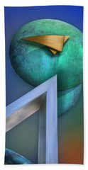 Beach Towel featuring the photograph One Forty Seven by Paul Wear