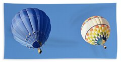 Two High In The Sky Beach Towel